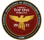 National Association of Distinguished Counsel - 2021